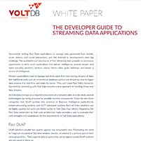 Whitepaper: The Developer Guide to Streaming Data Applications