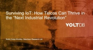 Webinar: Surviving IOT - How Telcos Can Thrive in the Next Industrial Revolution