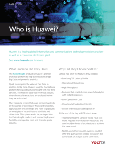 Huawei case study preview