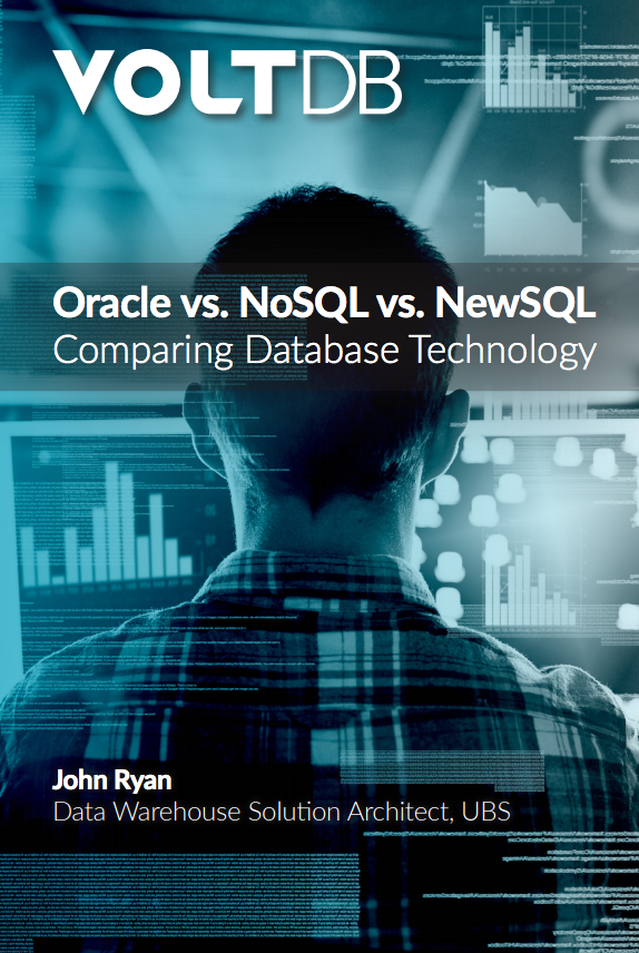 ebook: Oracle vs NoSQL vs NewSQL