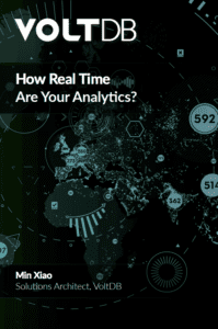 VoltDB eBook: Real-time Analytics