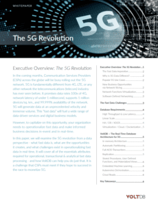 VoltDB Whitepaper: The 5G Revolution