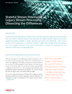 Whitepaper: Stateful Stream Processing vs Legacy Stream Processing: Dissecting the Difference