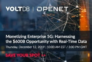 Join our Monetizing Enterprise 5G Webinar Dec 4