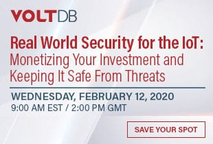 ioT security webinar, Feb 12, 2020