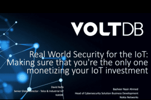 Webinar - Real World Security for the IoT: Monetizing Your Investment and Keeping It Safe From Threats