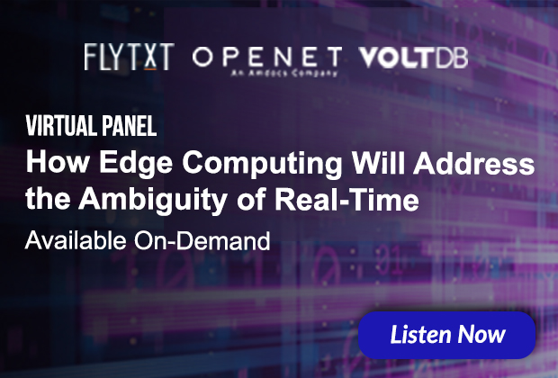 Listen Now to this Edge Computing, Real-time Event