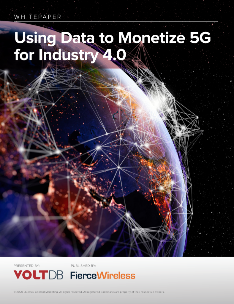 Whitepaper: Using Data to Monetize 5G for Industry 4.0