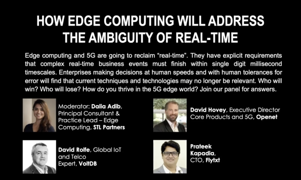 Pre-Recorded Virtual Panel: How Edge Computing Will Address the Ambiguity of Real-Time